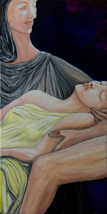 Modern renaissance painting, new fine art, large paintings, acrylic painting on canvas, art collect, fine art limited edition prints