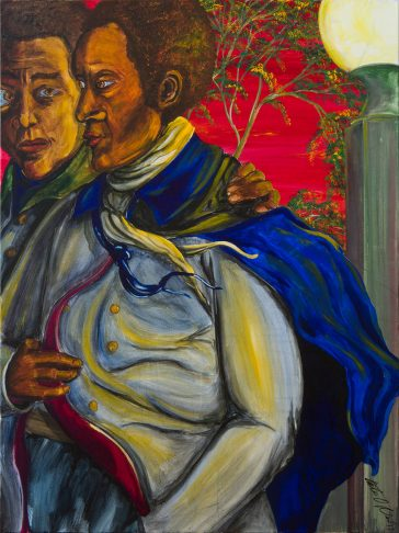 African american paintings, classical painting, portrait painting, large original paintings for sale, figurative painting, classically trained artist